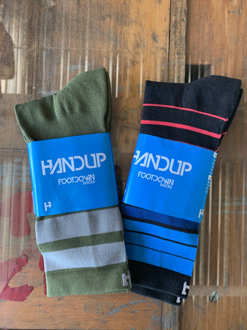 HandUp Footdown Socks