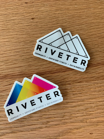 Riveter Sticker