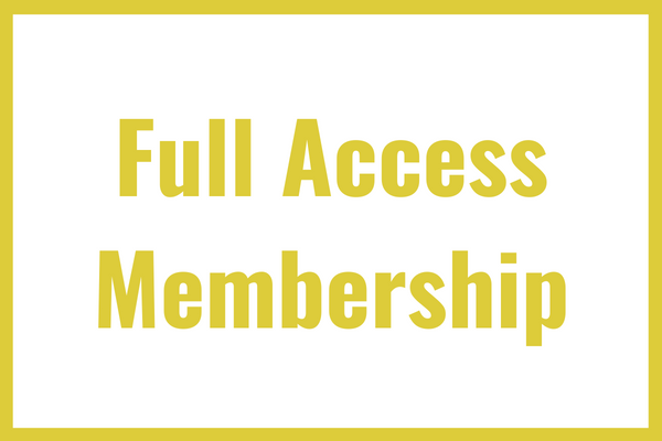 Full Access Membership - Yearly