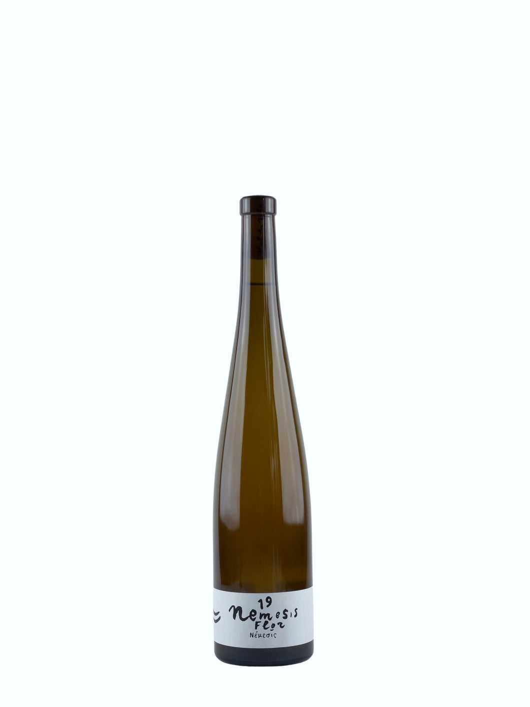Bottle of Nemesis Flor, a Natural Wine produced by Valdisole with Favorita and Gewürztraminer grapes, exclusively for FYT Wine.