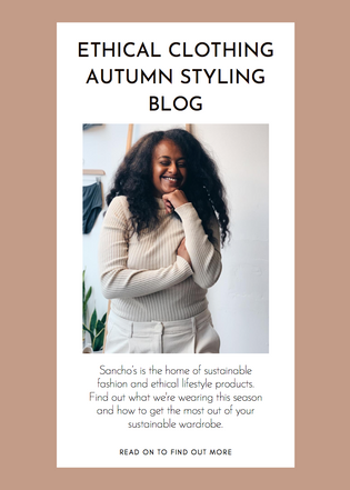 Ethical Clothing Autumn Styling
