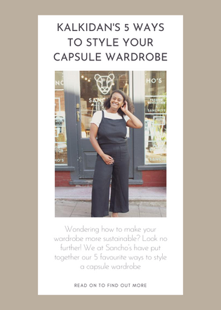 Kalkidan's 5 Ways to Style Your Capsule Wardrobe