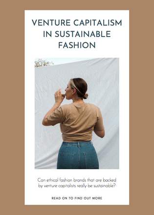 Venture Capitalism in Sustainable Fashion
