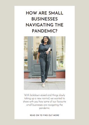 How are Small Businesses Navigating the Pandemic?