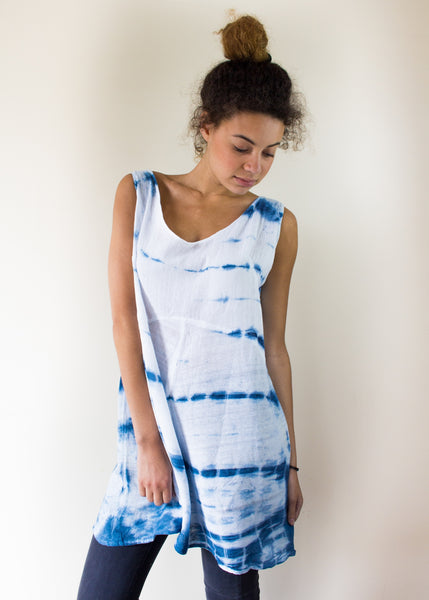 Shibori Dye Ethical Dress, Sancho's Dress Ethical Fashion
