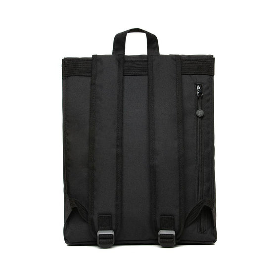 Eco Handy Backpack in Black-Bag-Sancho's Dress