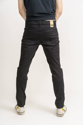 Men's Dean in Jet Black-Jeans-Sancho's Dress