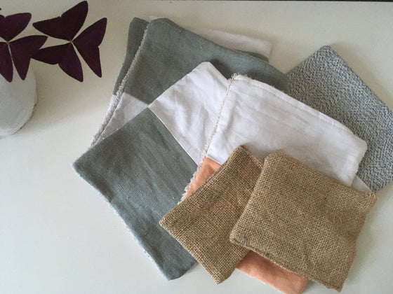 Zero Waste Natural Biodegradable Reusable Cleaning Cloths from Neat