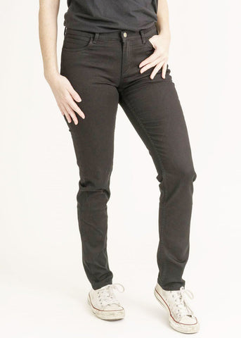 Women Black Denim Jeans-Jeans-Sancho's Dress