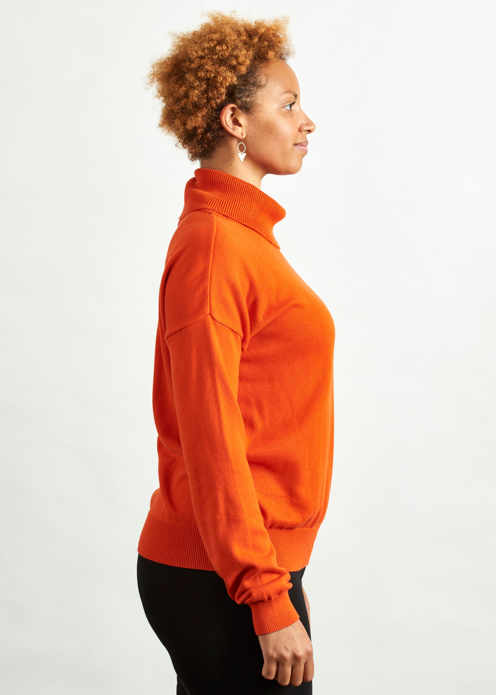 Larsen Jumper Orange-Jumper-Sancho's Dress