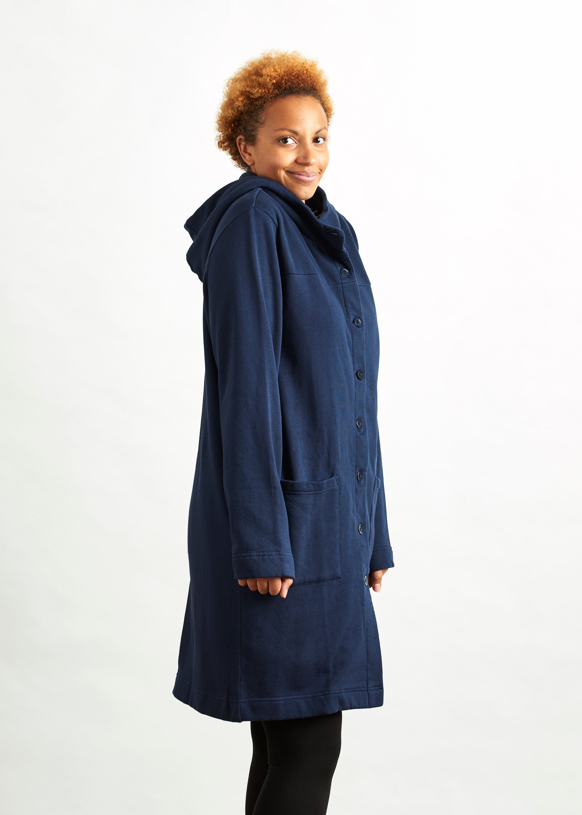 Yvette Fleece Coat-Coat-Sancho's Dress