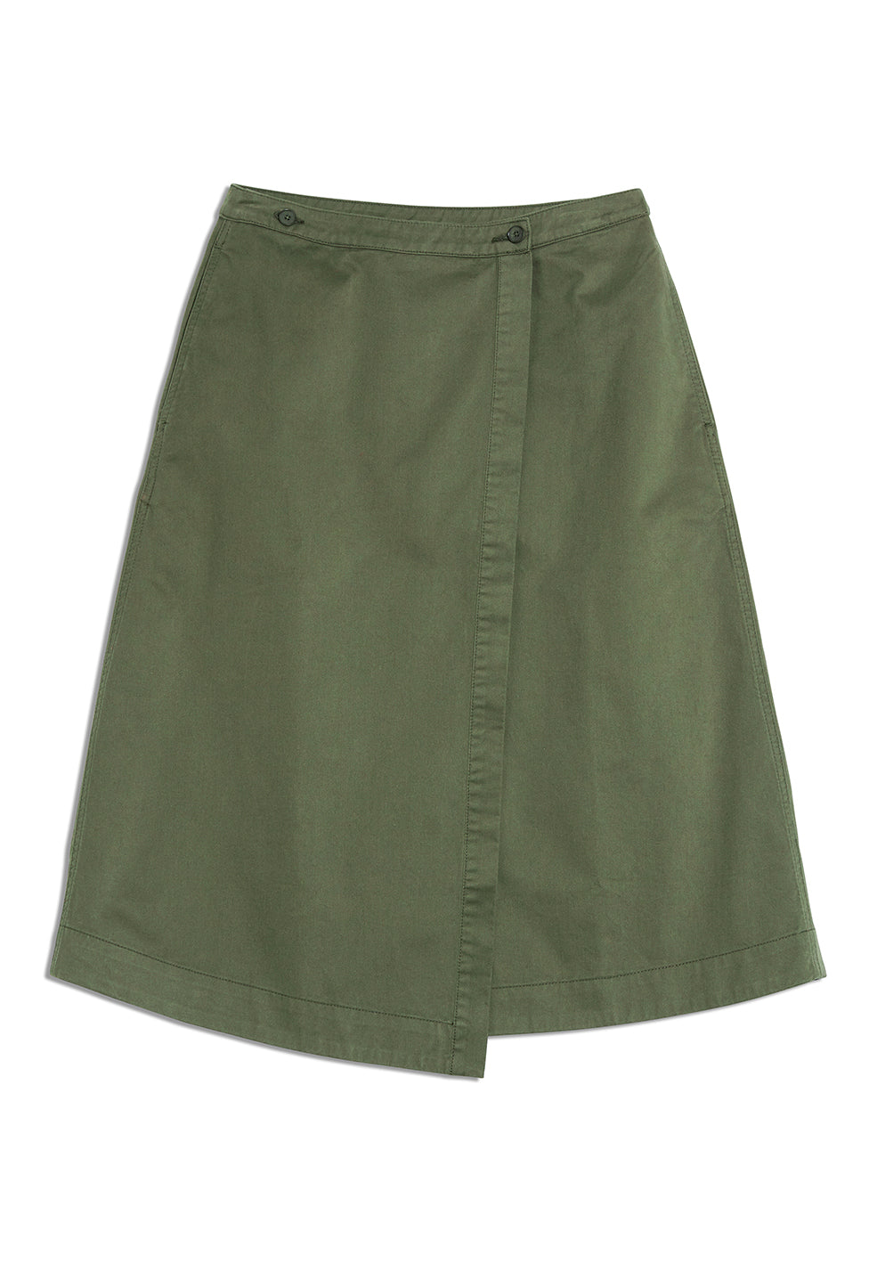 Villaa in Moss Green-Skirt-Sancho's Dress