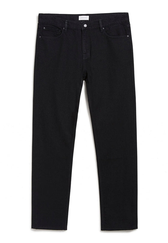 100% Organic Cotton Dylaan Jeans in Black From Armedangels