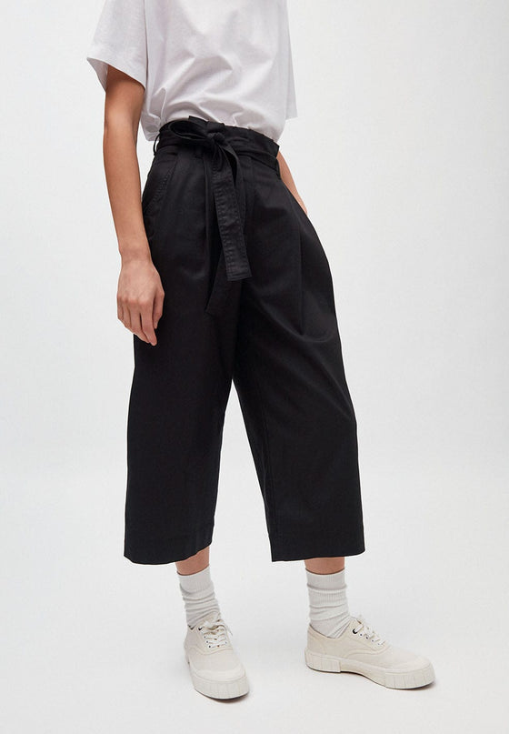 Black Wide Leg Trousers | Violettaa