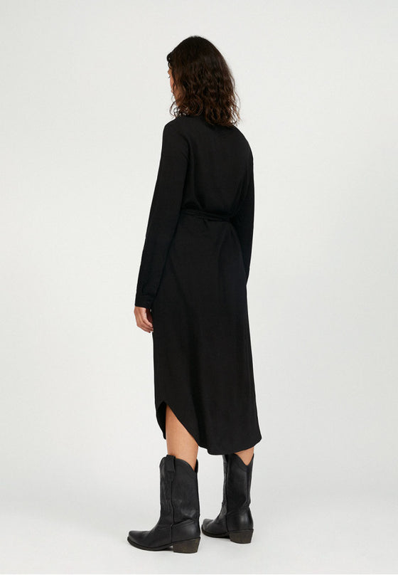 Saigaa Dress in Black