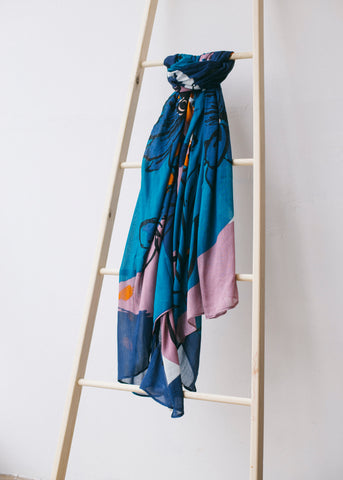 Celia Sarong-Scarf-Sancho's Dress