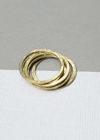 Slim Stacking Rings-Ring-Sancho's Dress