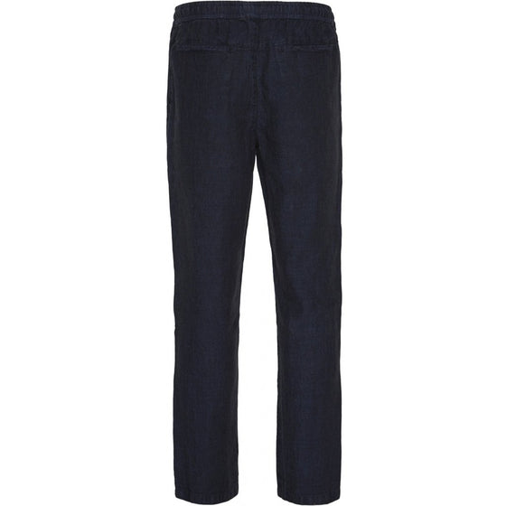Birch Loose Ramie Trousers in Total Eclipse