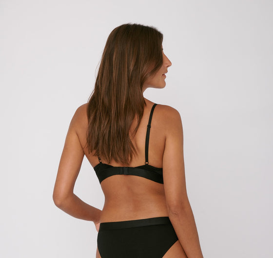 Organic Basics TENCEL Lite Bralette in Black