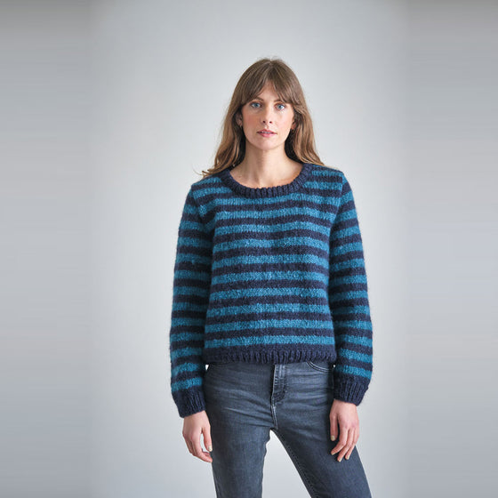 Ethical Handmade Knitted Jumper from Sancho's in Exeter, UK