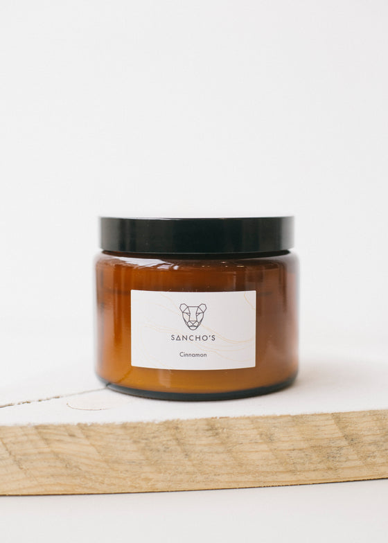 Cinnamon Brown Pot Candle 500ml-Candles-Sancho's Dress