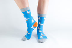 Men's Blue Seagull 7-11-Socks-Sancho's Dress