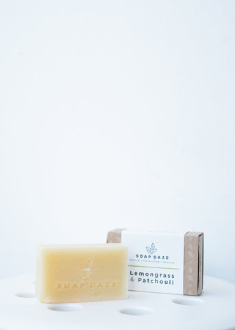 Lemongrass & Patchouli Vegan Soap-Soap-Sancho's Dress