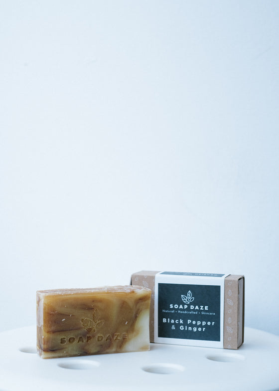 Black Pepper & Ginger Vegan Soap-Soap-Sancho's Dress