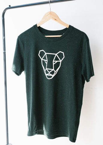 Sancho's Lioness Tee in Scarab Green-T-Shirt-Sancho's Dress
