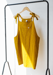 Cup Pinafore in Mustard - Sancho's Own-Dress-Sancho's Dress