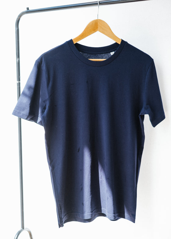 He Creates in French Navy-T-shirt-Sancho's Dress
