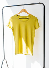 She Expresses in Heather Neppy Lemongrass-T-shirt-Sancho's Dress