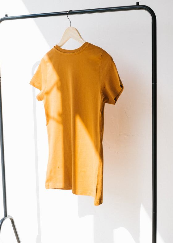 She Expresses in Roasted Orange-T-shirt-Sancho's Dress