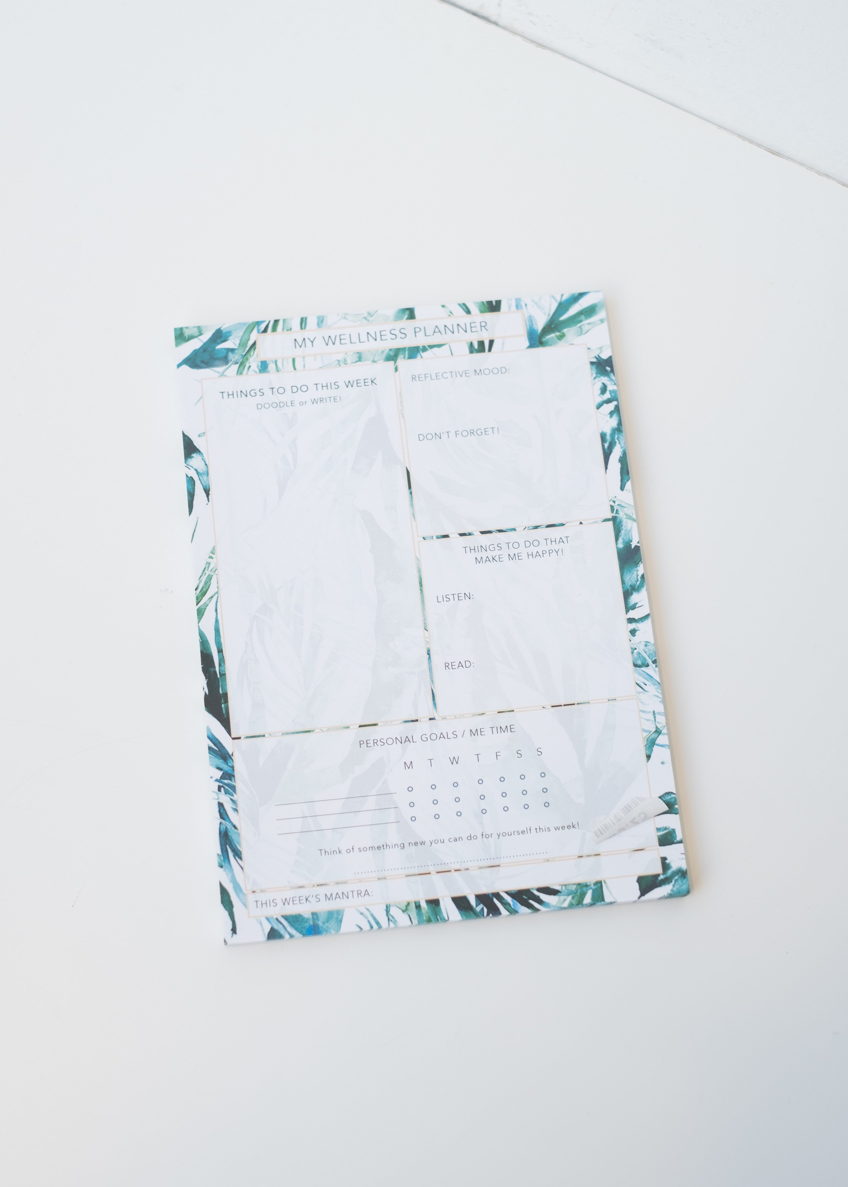 A5 Wellness Paradise Palms Planner-Stationery-Sancho's Dress