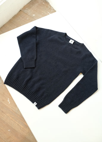 Beaufort Sweater in Blue-Sweater-Sancho's Dress