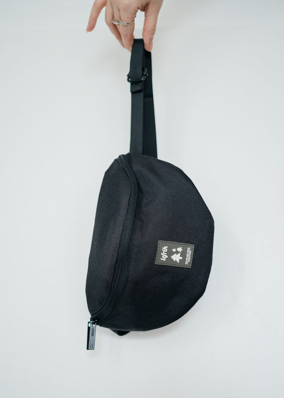 Bum Bag in Black