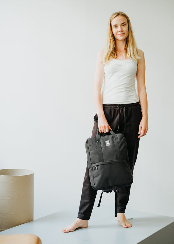 Daily Backpack in Black-Bag-Sancho's Dress