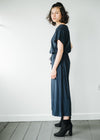 Brigitta Jumpsuit in Midnight Navy-Jumpsuit-Sancho's Dress