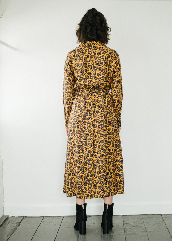 Vellaamo Camou Flowers in Caramel Butter-Dress-Sancho's Dress