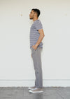 Loose Tone Carpenter Trousers in Pewter Grey-Sweater-Sancho's Dress