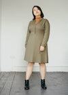 Inaari in Moss Green-Dress-Sancho's Dress