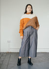 Antonellaa Colour Block in Dark Caramel Pumpkin-Jumper-Sancho's Dress