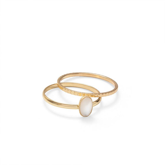 Stone Set Rings in Gold