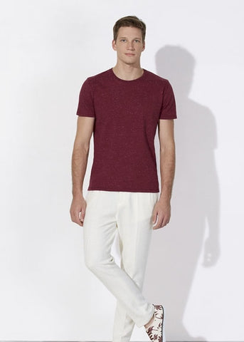 He Hips - Dark Heather Burgundy-T-shirt-Sancho's Dress
