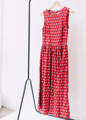 V&A Esther Print Midi Dress-Dress-Sancho's Dress