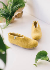 Egos Shoes in Mustard-Shoes-Sancho's Dress