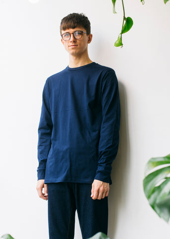 Jost in Dark Navy-LS-Tshirt-Sancho's Dress