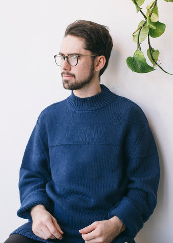 Robin Jumper in Navy-Jumper-Sancho's Dress