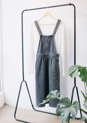 Aalva in Grey Wash-Dress-Sancho's Dress