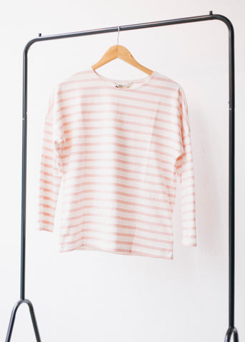Nerissa Stripe Top in Pink-Top-Sancho's Dress